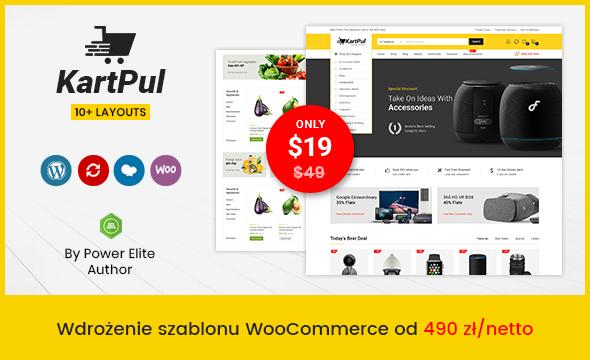 Wdrożenie szablonu WooCommerce