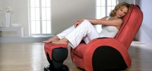 Fotele do masażu gwarantują wspaniały relaks