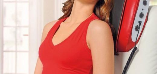 Poduszki masujące likwidują ból szyi oraz karku