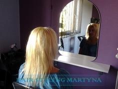 Przed przedłużaniem włosów