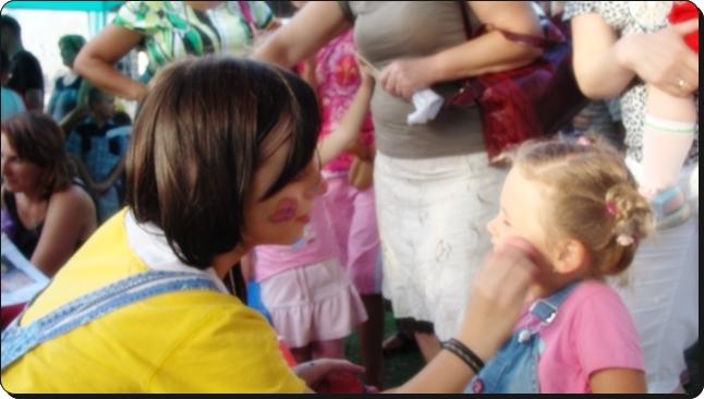 malowanie twarzy na imprezy dla dzieci poznań