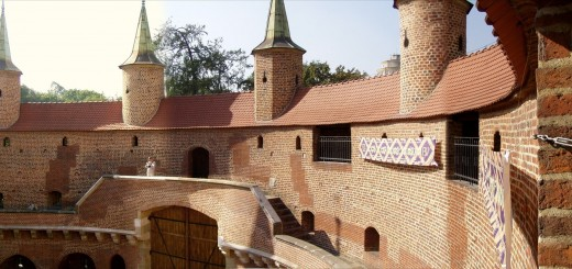 Kraków barbakan