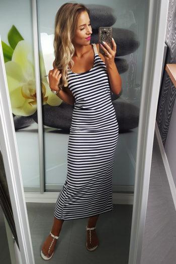 marynarskie letnie sukienki
