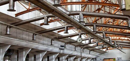 wentylacja hali przemyslowej