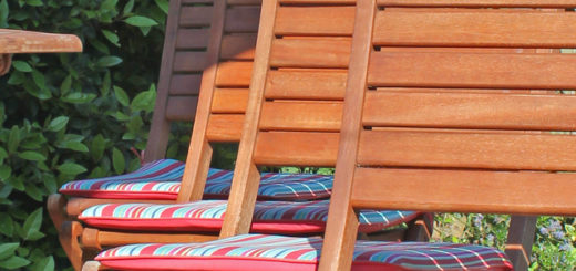 Drewniane meble ogrodowe - krzesła