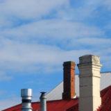 Kominy murowane i komin stalowy