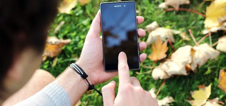 Jeden ze smartfonów z rodziny Sony Xperia