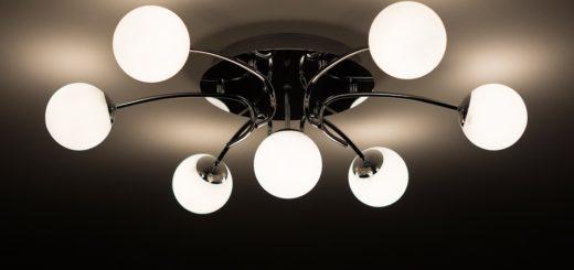 Lampy nowoczesne to także żyrandole