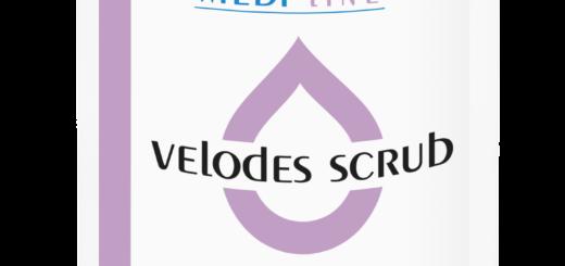 Velodes Scrub- dezynfekcja dłoni, delikatne antybakteryjne mydło do mycia rak i całego ciała.