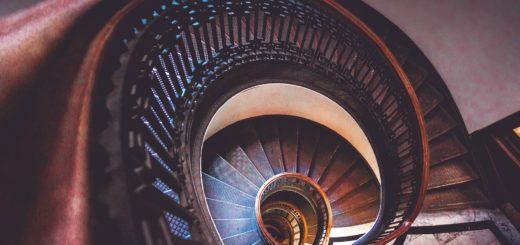 schody gięte
