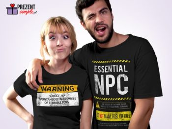 Śmieszne koszulki z nadrukiem