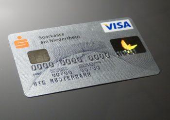 Karta debetowa Visa