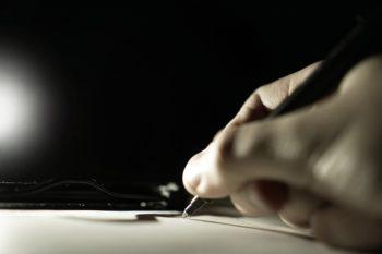 długopisy papierowe