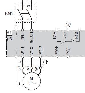 podłączenie falownika 1 fazowego