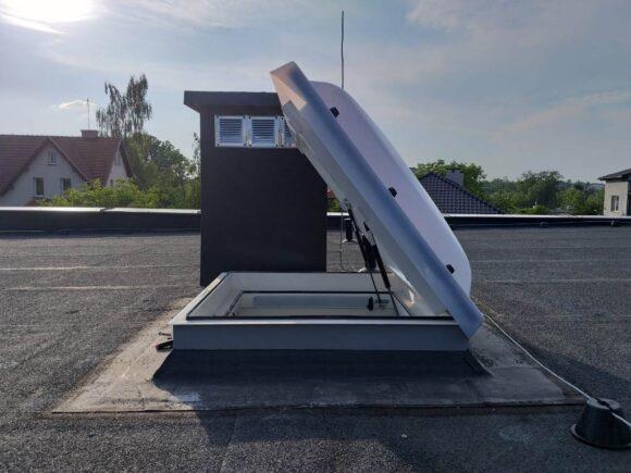 teleskopy gazowe do okien dachowych