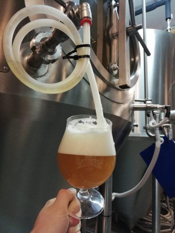 szkło do piwa kraftowego